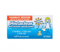 HISTACLEAR TABLET 10 MG 30 Tablets *Pharmacy Medicine* - Pakuranga Pharmacy