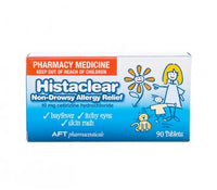 HISTACLEAR 10MG 90 Tablets For Allergy, hayfever, sneezing, itchy eyes & itchy skin rash