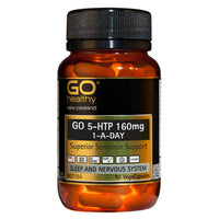 Go Healthy GO 5-HTP 160MG 1-A-Day capsules
