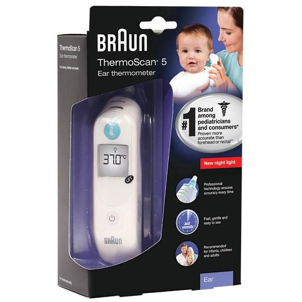 Braun thermoscan Ear thermometer IRT6030(Free 40pk Filters ...