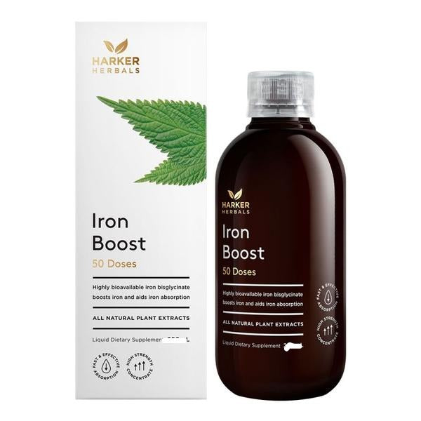 Harker Herbals Iron Boost 250ml - Pakuranga Pharmacy