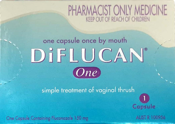 Diflucan Once 150mg Capsules - Pakuranga Pharmacy