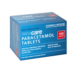 Paracare Paracetamol 500 mg 100 Tablets Qty Restriction (1) applies