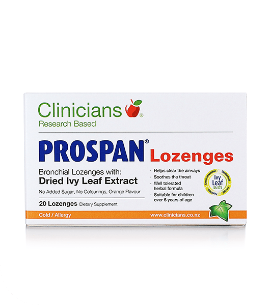 Clinicians Prospan Lozenges 20's - Pakuranga Pharmacy