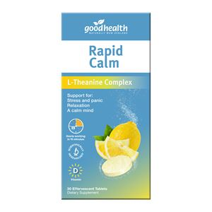 Good Health Rapid Calm 30 Effervescent Tablets