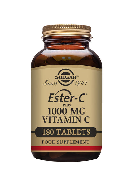 Solgar Ester-C plus 1000 MG Vitamin C 180 tablets