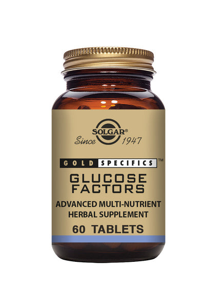 Solgar Gold Specifics Glucose Factors 60 tablets