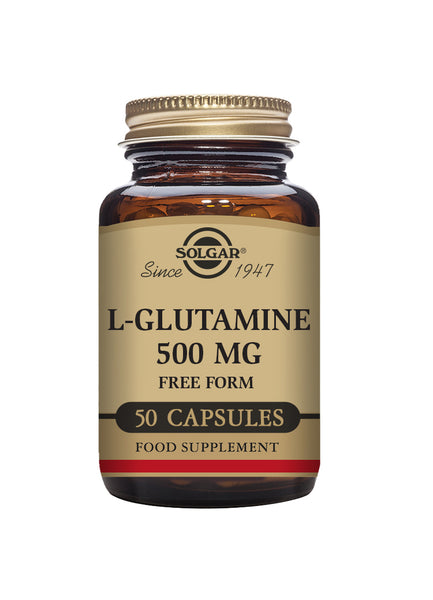 Solgar L-GLUTAMINE 500mg vegetable 50 capsules