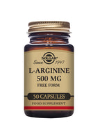 Solgar L-ARGININE 500 mg vegetable 50 capsules