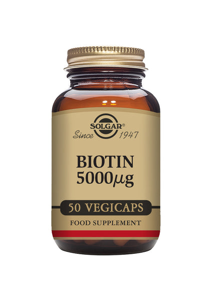 Solgar BIOTIN 5000 mcg vegetable 50 capsules
