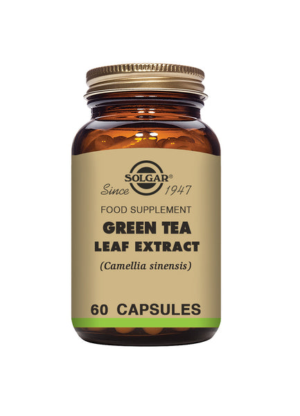 Solgar SFP GREEN TEA LEAF EXTRACT 60 capsules