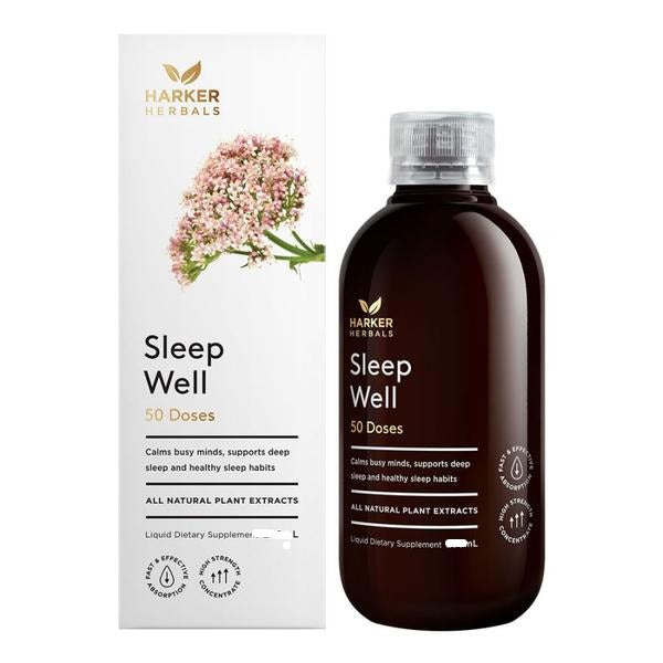 Harker Herbals Sleep Well 250ml - Pakuranga Pharmacy