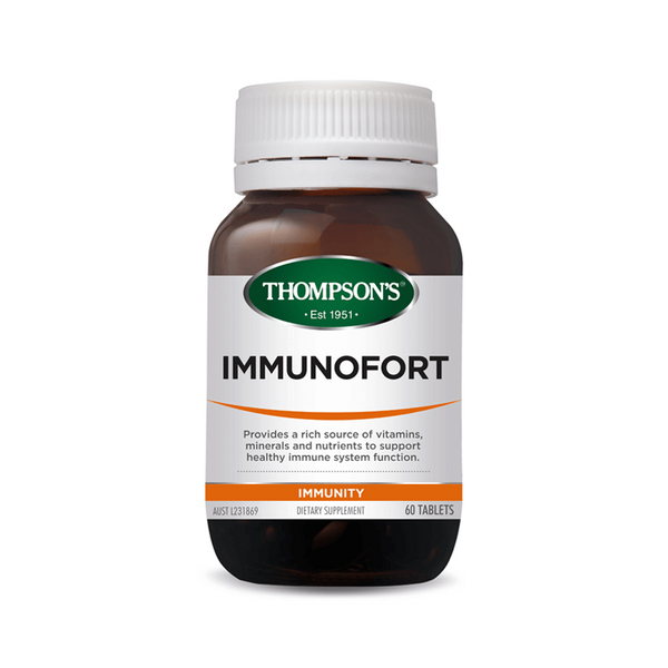 Thompsons Immunofort Tablets 120's Qty restriction (1) applies