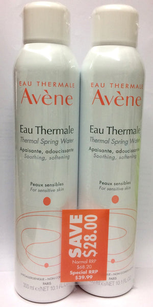 Avene thermal spring water 300 ml twin pack - Pakuranga Pharmacy