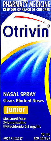 Otrivin Nasal Spray junior 10 ml