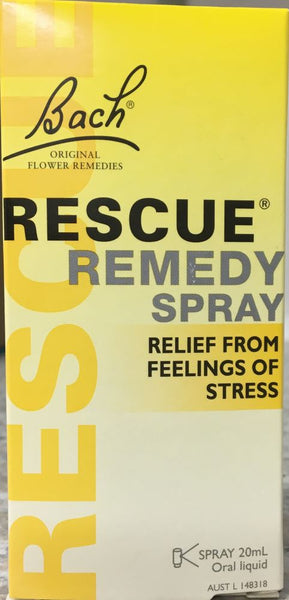 Bach Rescue Remedy Spray 20 mL - Pakuranga Pharmacy