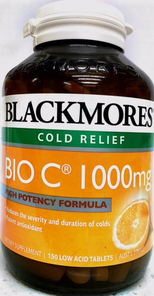 Blackmores Bio C® 1000mg 150tabs - Pakuranga Pharmacy