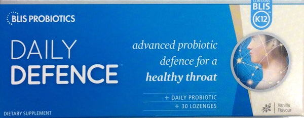 BLIS K12 Throat Guard Daily 30 Lozenges - Pakuranga Pharmacy