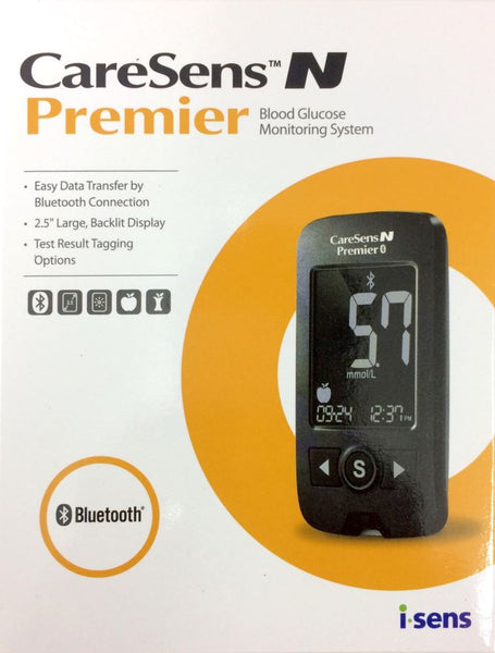 Caresens N Premier Blood Glucose Monitering System - Pakuranga Pharmacy