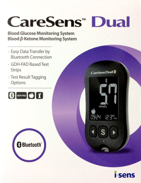 CareSens Dual Blood Glucose & Blood Ketone Monitoring System - Pakuranga Pharmacy
