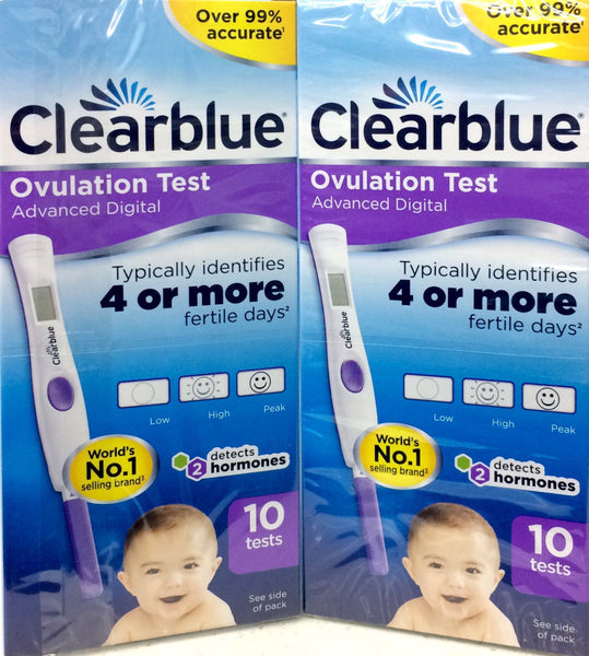 Clearblue Advanced DIGITAL Dual Hormone Indicator Ovulation Test 20 Test **On Sale** - Pakuranga Pharmacy
