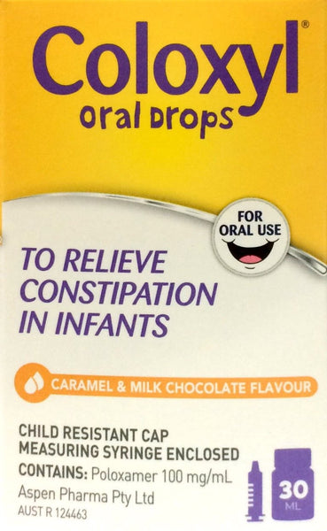 Coloxyl Oral Drops For Constipation In Infants 30ml - Pakuranga Pharmacy