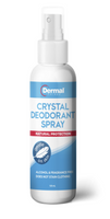 Dermal Therapy Crystal Deodorant Spray 120ml - Pakuranga Pharmacy
