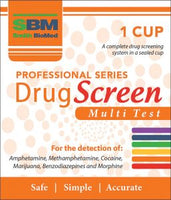 SBM Professional Drug Screen MULTI Test - 1 Cup