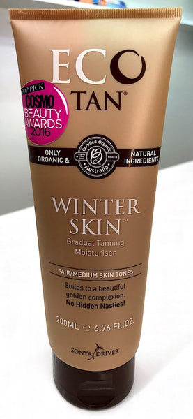 Eco Tan Winter Skin Fair/Medium Skin Types 200ml - Pakuranga Pharmacy