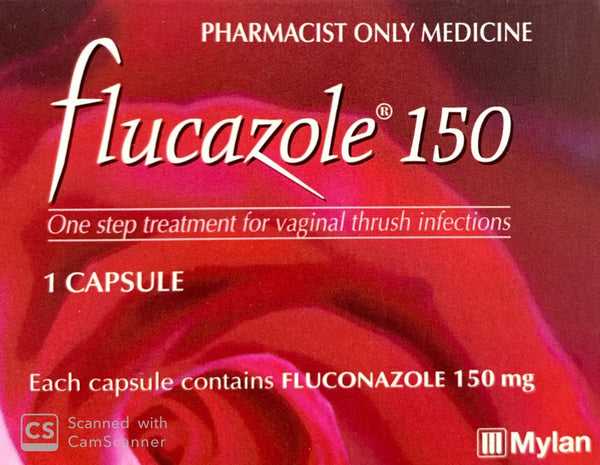 Flucazole - Fluconazole 150mg - 1 Capsule - Pharmacist Only Medicine - Pakuranga Pharmacy