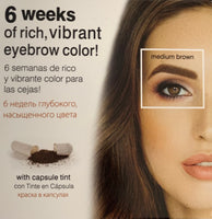 Godefroy Instant Eye Brow Tint Kit 6 Weeks Medium Brown