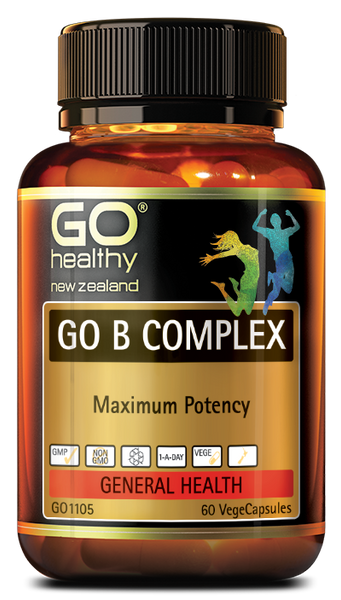 Go Healthy GO B COMPLEX 60 CAPSULES