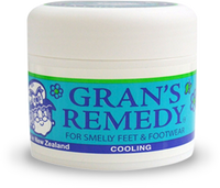 Grans Remedy For Smelly Feet & Footwear 50 gm - Pakuranga Pharmacy