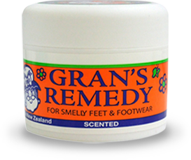 Grans Remedy For Smelly Feet & Footwear Scented 50 gm - Pakuranga Pharmacy