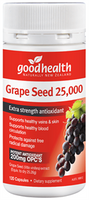 GOOD HEALTH Grape Seed 25000 120 caps - Pakuranga Pharmacy