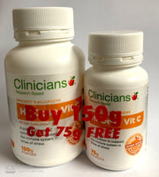 Clinicinas Hi Dose Vitamin C 150gm (Free 75gm) - Pakuranga Pharmacy