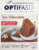 OPTIFAST VLCD BAR CHOCOLATE 70 GM X 6