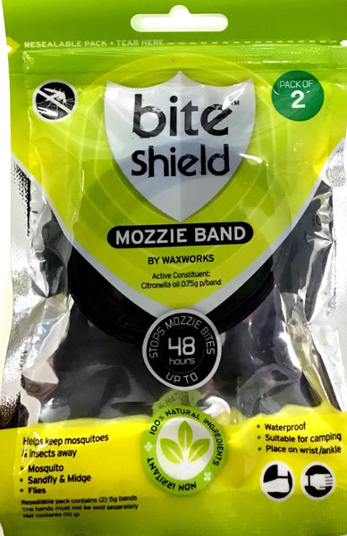 Bite Shield Mozzie Band - Pack of 2 - Pakuranga Pharmacy