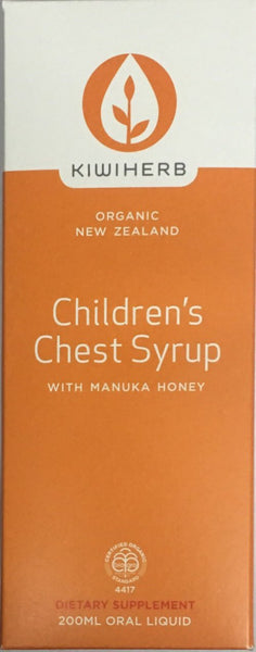 Kiwiherb Children's Chest Syrup 200ml - Pakuranga Pharmacy