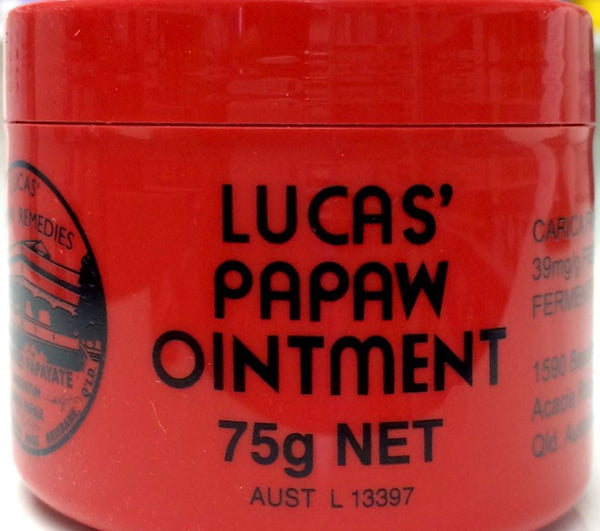 Lucas Papaw Ointment Tube 75g - Pakuranga Pharmacy