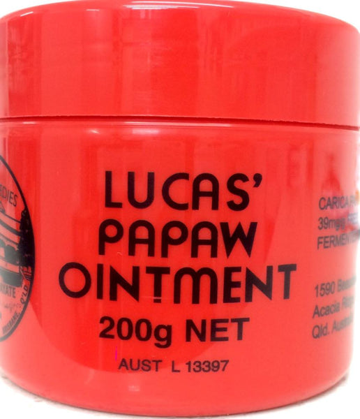 Lucas Papaw Ointment 200g - Pakuranga Pharmacy