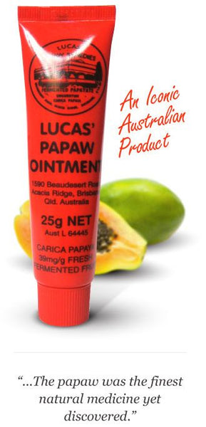 Lucas Papaw Ointment Tube 25g - Pakuranga Pharmacy