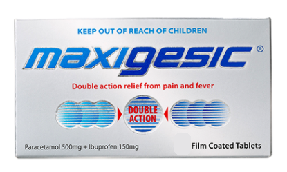 Maxigesic tablets- Qty restriction applies