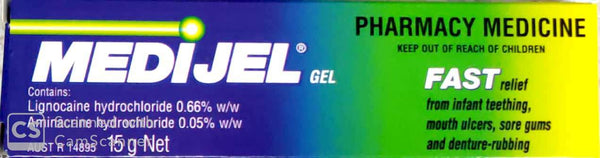 Medijel Ulcer Gel 15gm-Pharmacy Medicine