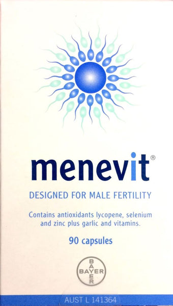 Menevit Male Fertility Supplement 90 capsules - Pakuranga Pharmacy
