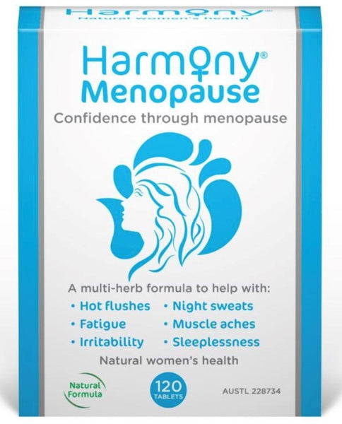 Harmony Menopause Support 120 tablets