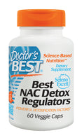 Doctor's Best NAC Detox Regulators 60 Veggie Caps - Pakuranga Pharmacy
