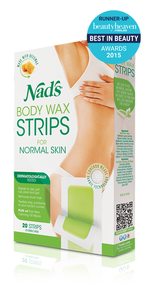 Nads Body Wax Strips 20 - Pakuranga Pharmacy