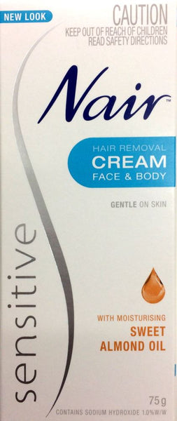 Nair Sensitive Hair Removal Cream 75g - Pakuranga Pharmacy