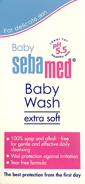 Sebamed Baby Wash Extra Soft pH5.5 - 200mL